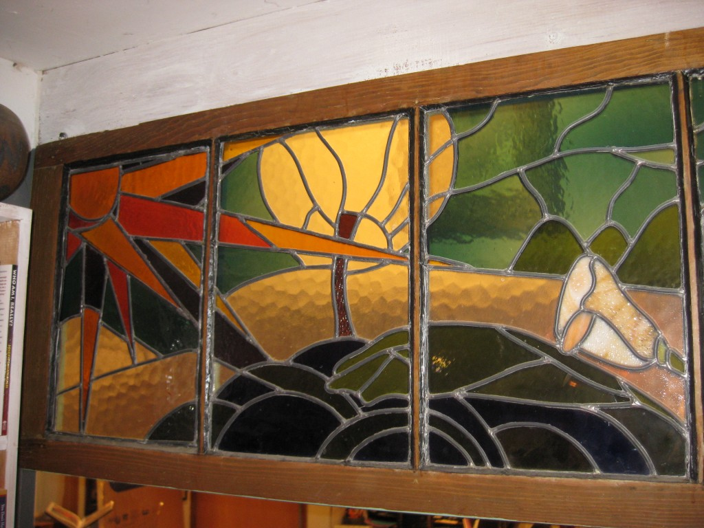 Stain Glass 5 ft. x 2 ft.